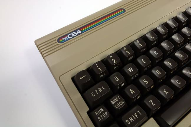 The C64 certainly looks the part