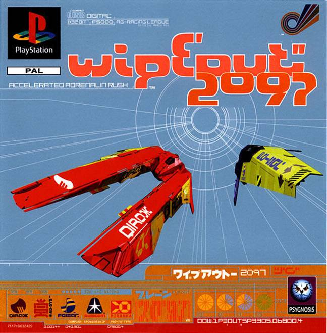 WipEout 2097 / Credit: Psygnosis