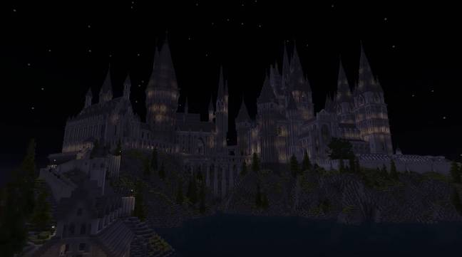 Minecraft School of Witchcraft and Wizardry / Credit: Mojang, Microsoft, The Floo Network