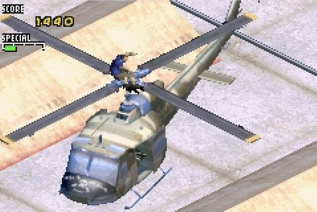 THPS2 on the Game Boy Advance / Credit: Activision, MobyGames.com