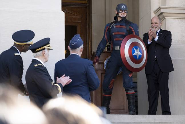 The New 'Captain America' / credit: Marvel