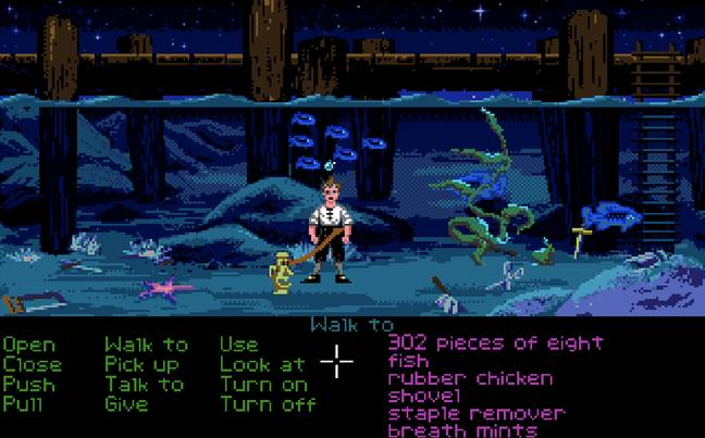 The Secret of Monkey Island / Credit: Lucasfilm Games, mobygames.com