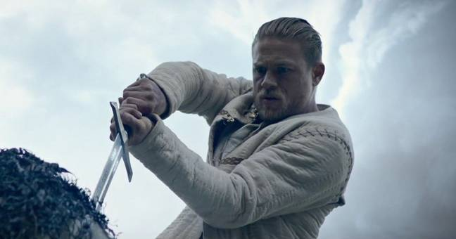 Hunnam as King Arthur / Credit: Warner Bros. Pictures