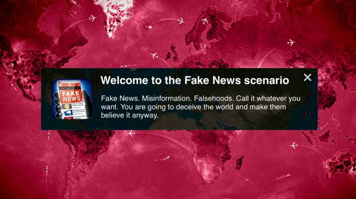 Fake News Is The Latest Disease in 'Plague Inc.'