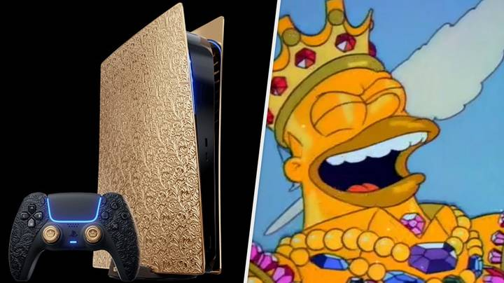 Solid Gold PS5 With Crocodile Skin Controller Will Cost You £250,000