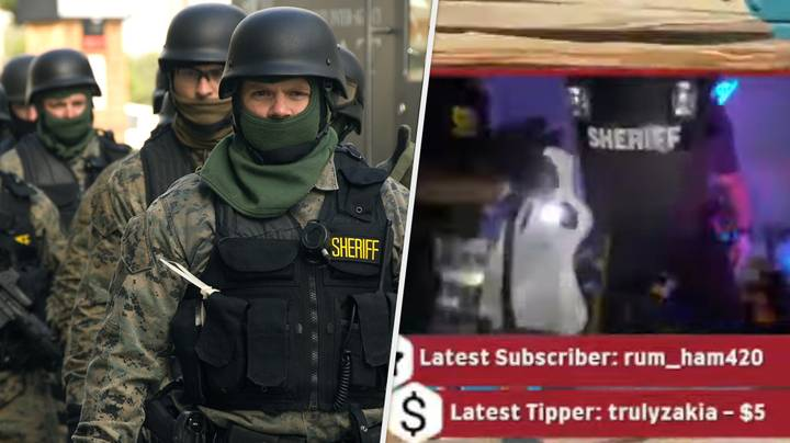 Twitch Star Raided By Armed Police Mid-Stream In Swatting Incident