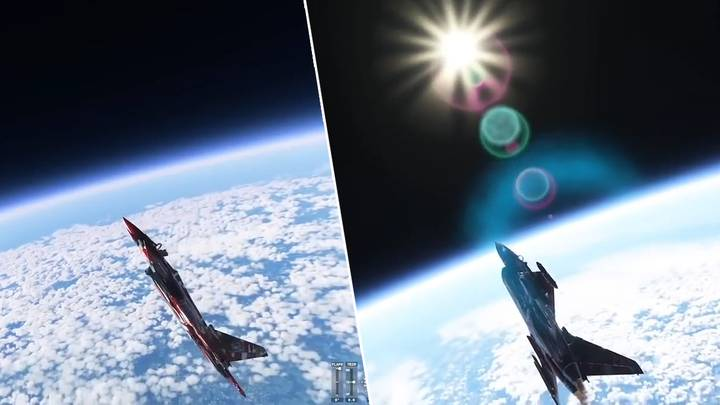 'Microsoft Flight Simulator' Player Manages To Fly To Space