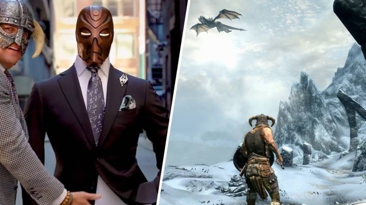 This 'Skyrim' Inspired Suit Is Stunning And We Want One Right Now