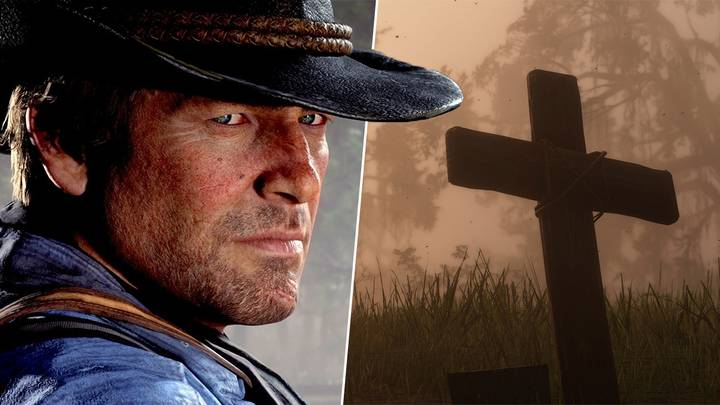 'Red Dead Redemption 2' Player Finds Unusual And Disturbing Grave In Game