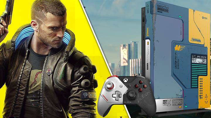 The 'Cyberpunk 2077' Xbox One X Surely Can't Cost £1,400, Right?