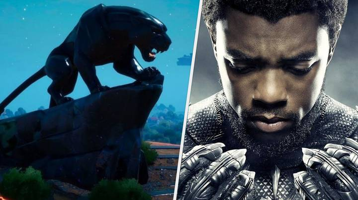 'Fortnite' Pays Tribute To Chadwick Boseman With Black Panther Statue