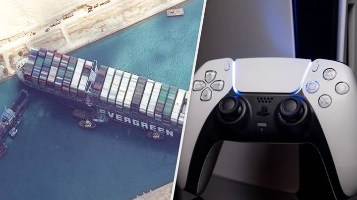PlayStation 5 Stock Almost Certainly Affected By Stuck Suez Canal Ship