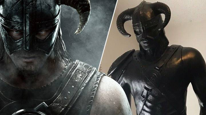 Treat A 'Skyrim' Fan This Christmas With A Life-Sized Dovahkiin Statue