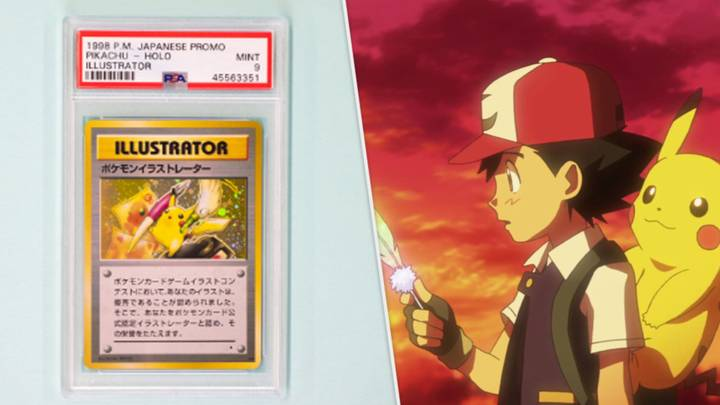 Most Expensive Pokémon Card In The World Breaks a New Auction Record