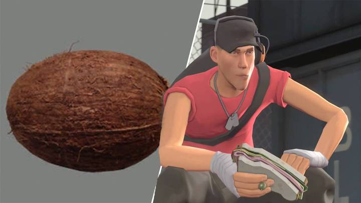 Entire 'Team Fortress 2' Game Apparently Held Together By Single Coconut JPG