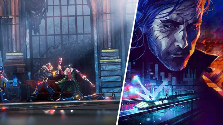 Brutally Violent Cyberpunk Platformer 'Replaced' Was A Low-Key Highlight Of E3