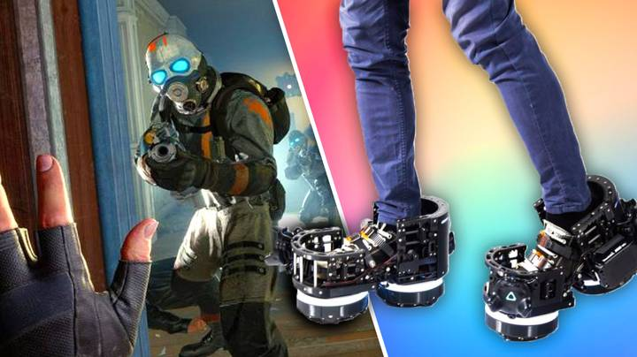 These Boots Will Let You Walk Normally Through VR Worlds