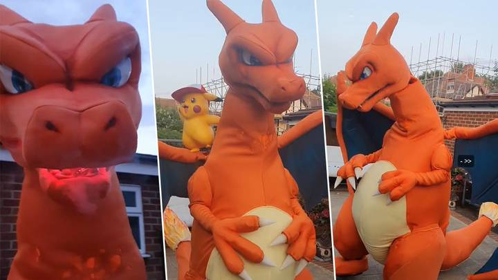 This Life-Size Charizard Costume Is Amazing