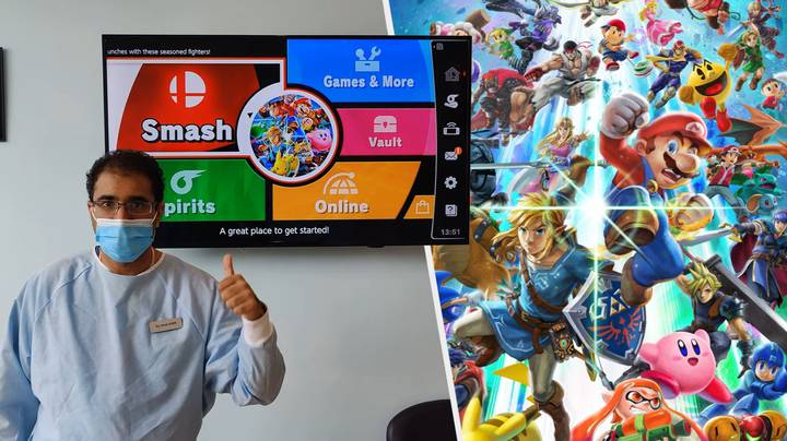 Dentist Provides Free Cleanings To Those That Can Beat Him At Super Smash Bros
