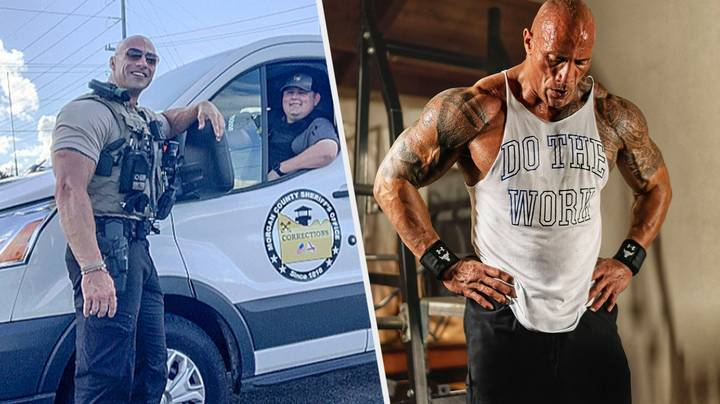 The Rock Has Been Introduced To His Doppelganger, And He's Impressed