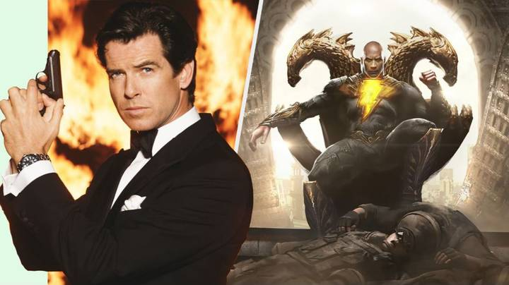 The Rock Reacts To Pierce Brosnan Being Cast In 'Black Adam'