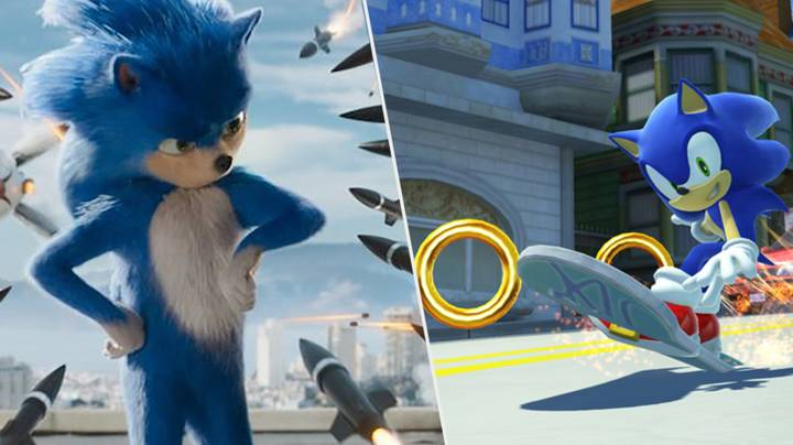 Sonic The Hedgehog Movie Redesign Reportedly Spotted In Cinema