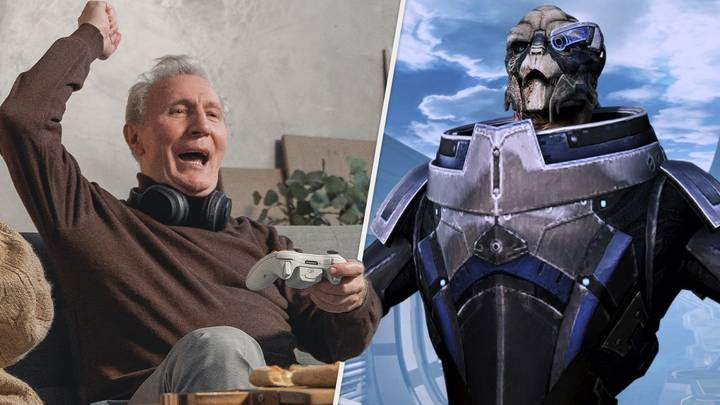 """Grandad Plays Through Mass Effect Trilogy, Calls It """"Most Fun"""" He's Had In Decades"""