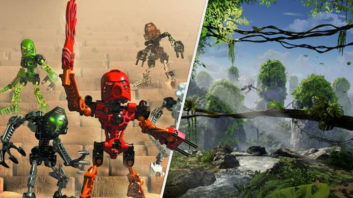 'Bionicle: Mask Of Power' Is A Stunning New Open-World Adventure Game