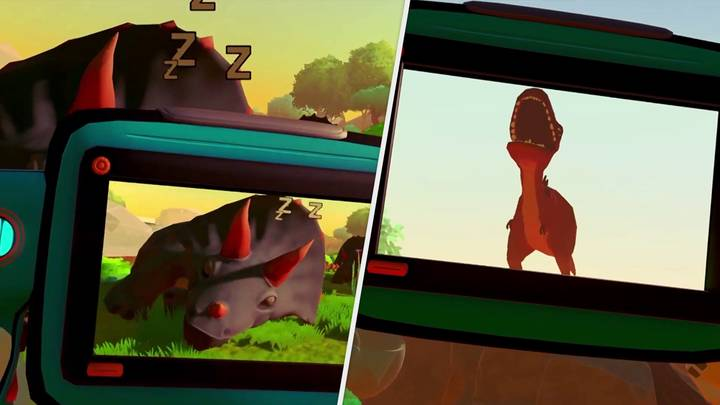 'Jurassic Snap' Is 'Pokémon Snap' In VR, And That's Pretty Sick