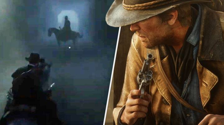 'Red Dead Redemption 2' Player Stumbles Across Eerie Ghostly Horseman