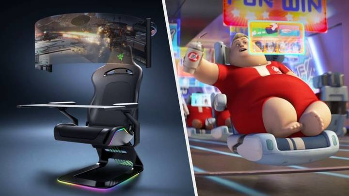 Razer's New Gaming Chair Is Being Compared To The Wall-E Recliners