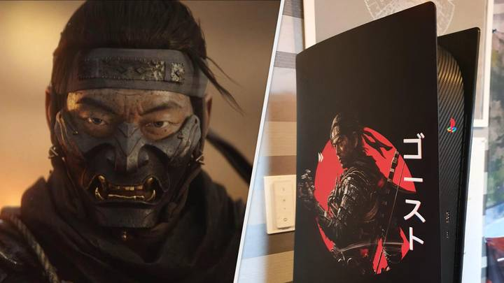This 'Ghost Of Tsushima' Themed PlayStation 5 Is A Thing Of Beauty
