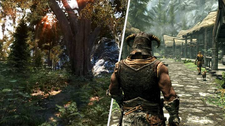 This 'Skyrim' Visual Overhaul Is What We Want To See On New-Gen Consoles
