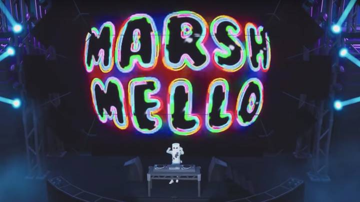 Marshmello Puts On Virtual Concert For 10 Million Players In 'Fortnite'