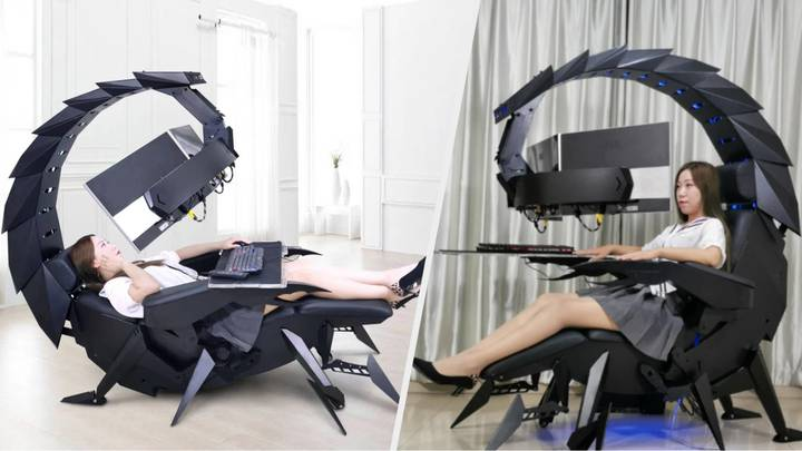 This Giant Scorpion PC Gaming Station Is An Absolute Monster