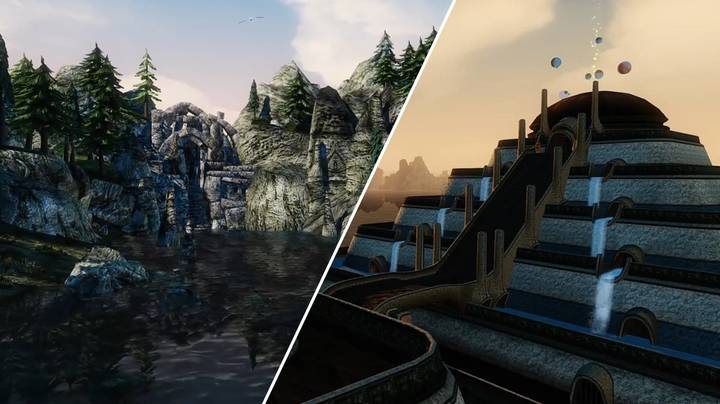 'Morrowind' Running With Over 300 Mods Is Absolutely Gorgeous
