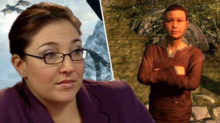 'Skyrim' Player Stabbed By Own Son Proves Poison Knives Aren't Toys