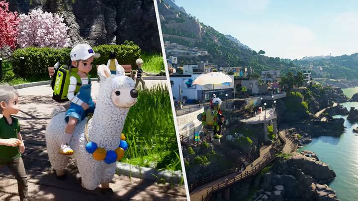 This Pokémon-Inspired Open-World Game Looks Utterly Gorgeous