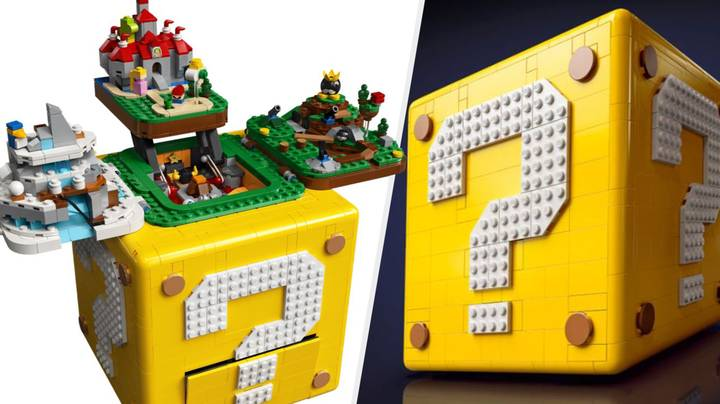 LEGO Reveals Massive 'Super Mario 64' Set That Transforms Before Your Eyes