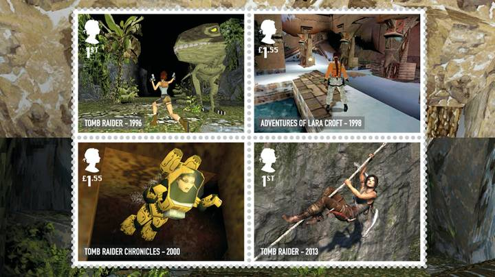 British Royal Mail Rolls Out Gorgeous Video Gaming Stamp Collection