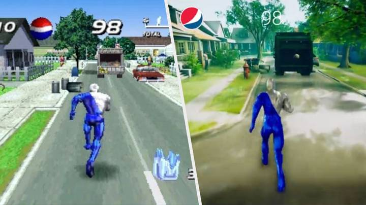 PlayStation Cult Classic 'Pepsiman' Just Got A Next-Gen Remake With RTX