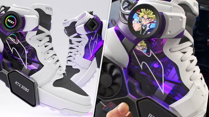 A High-End Gaming PC Has Been Built Into These Trainers, And Yes, That's Awesome