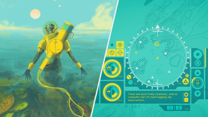 Exploring An Alien Ocean Is Incredibly Chill With 'In Other Waters'
