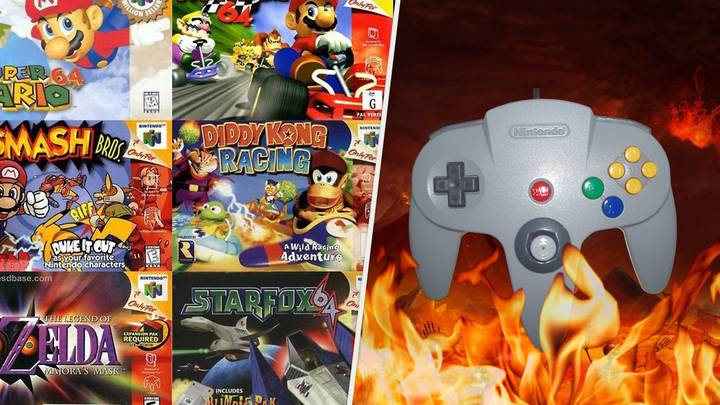 Sorry, But The Nintendo 64 Controller Was A Hideous Nightmare