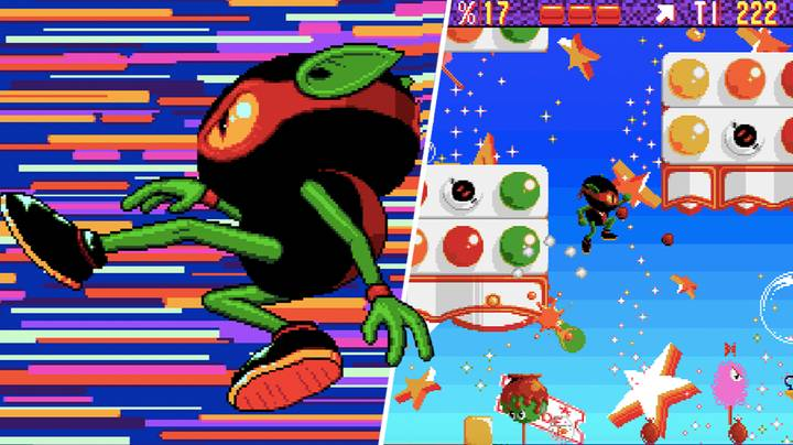 'Zool' Was Home Computing's Shot At Sonic, And It Kinda Missed
