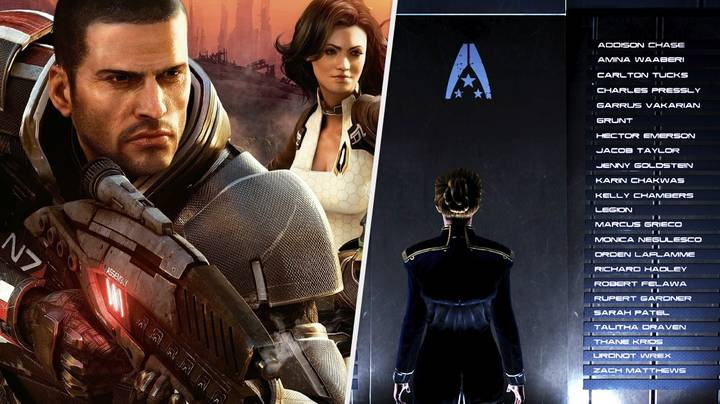 Mass Effect Fans Pay Their Respects To The Hardest Death In The Trilogy