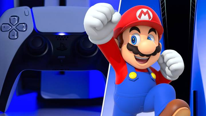 Super Mario Caught Buying A PlayStation 5 Like A Dirty Traitor