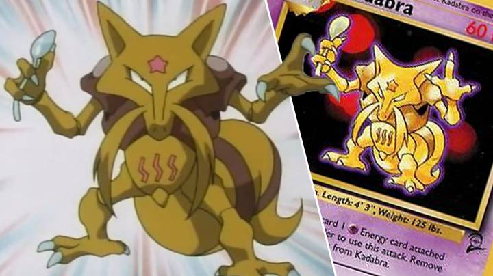 Kadabra Allowed To Be Printed On Pokémon Cards Again After 20 Years