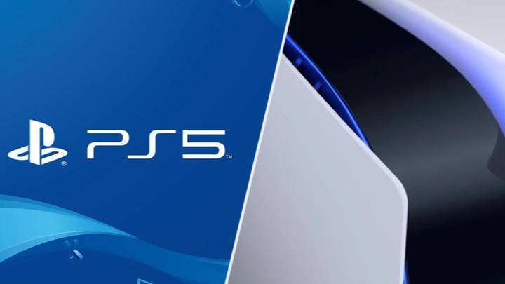 Here's The PlayStation 5 Lying On Its Side, In Case You Were Wondering