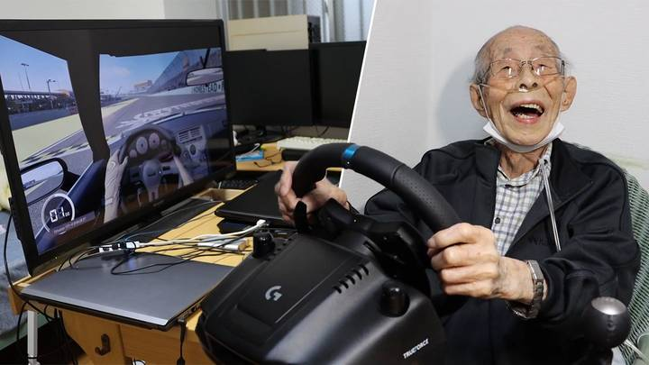 93-Year-Old Grandpa Has Become Online Sensation Playing Video Games